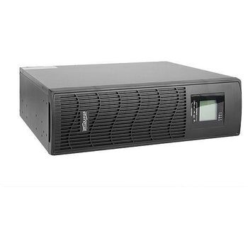 Gembird Rack/Tower 3.4U UPS EG-UPS-034, 2000VA/1200W, AVR, 6xIEC + 1xCEE 7/7 Schuko, LCD display, USB control interface, 3x12V/9Ah Battery