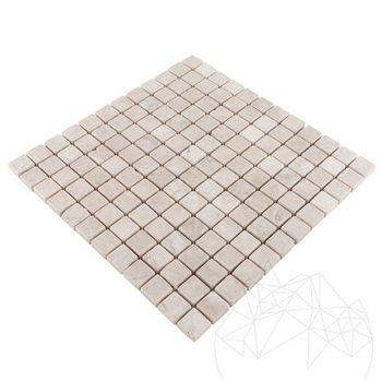 купить Мозаика Мраморная Капучино Античная 2,3 х 2,3 см в Кишинёве