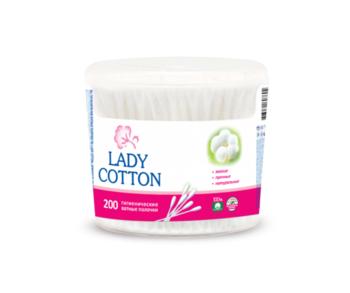 cumpără Beţişoare cu vată Lady Cotton, ambalaj plastic, 200 buc. în Chișinău