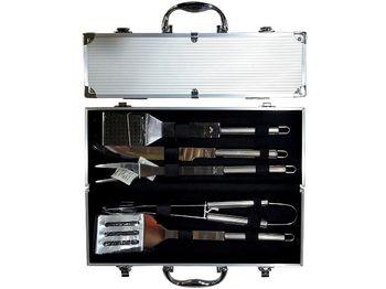 cumpără Set instrumente pentru gratar BBQ, 5buc in valiza 38X14X8cm în Chișinău