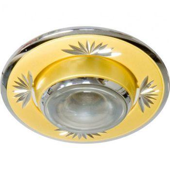 Feron Встраиваемый светильник NL09 R-50 золото