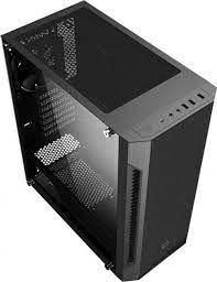 Корпус ATX GAMEMAX Fortress GT, без блока питания, 3x120-мм вентиляторы, ШИМ-контроллер, закаленное стекло, USB3.0, черный