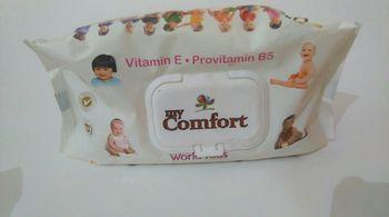 купить влажные салфетки My Comfort Baby 80buc World Kids/Fliptop в Кишинёве