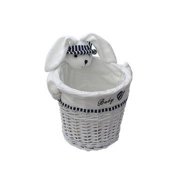 cumpără Coş cu iepure 280x260 mm, alb în Chișinău