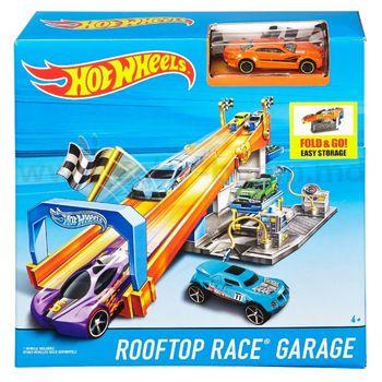 """Игровой набор """"Гараж на крыше"""" Hot Wheels, код DRB29"""