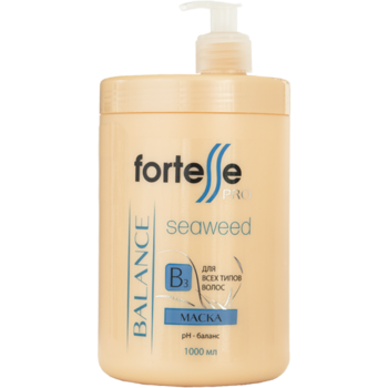 Mască pentru toate tipurile de păr, ACME Fortesse PRO, 1000 ml., BALANCE - pH echilibru