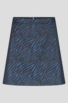 Юбка ORSAY Черный/синий 790125