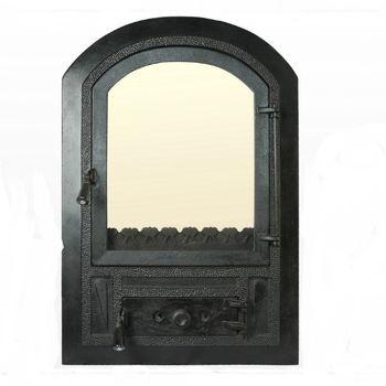 купить Дверца чугунная со стеклом Weekend - Gothic в Кишинёве