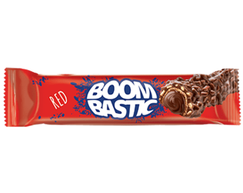 """Шоколадный батончик """"Boombastic Wafer Hazelnut Cream"""" с орехами 32г"""