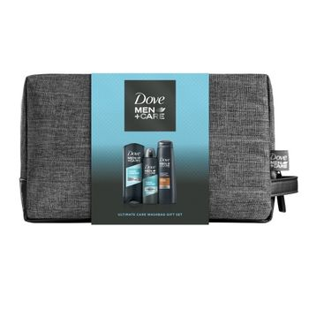 Cadou DOVE MEN +CARE CLEAN CONFORT (Gel de Dus 250ml + Deo 150ml +Sampon 250ml) + Geanta Gratis