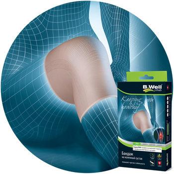cumpără B.Well Bandaj elastic pentru genunchi, prevenirea traumelor, L (W-331) în Chișinău
