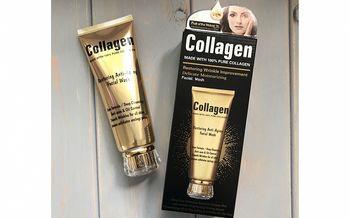 cumpără Gel pentru spalarea fetei Wokali Collagen Moisturizing Facial Wash, 120 ml în Chișinău
