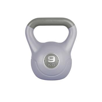 Гиря 9 кг цемент/винил inSPORTline Vin-Bell 16770 grey (3516)