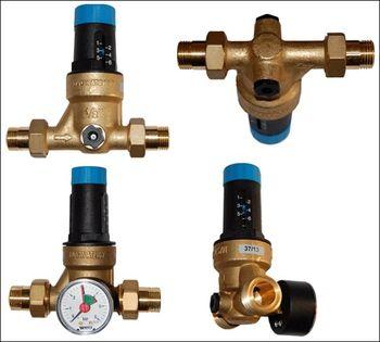 купить Редуктор давления мембранного типа Watts DRVMN20 1.5-6 бар с манометром dn20 в Кишинёве