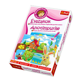 01204 Trefl Game-Little Explorer -Seasons HU RO