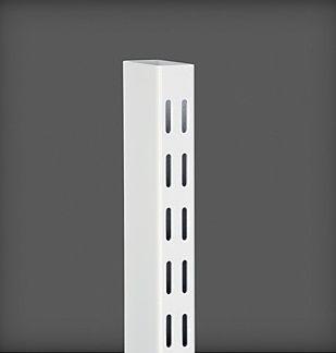 купить Настенная направляющая 1580x26x50 мм, белый в Кишинёве