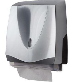 PRIMA ELLIPSE CHROME Диспенсер для складных бумажных полотенец
