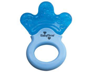 Зубное кольцо Baby time с жидкостью и ручкой, с 6 месяцев BT204