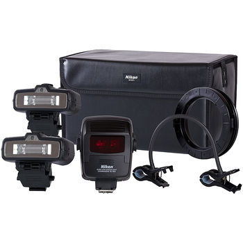 Nikon R1C1 (FSA906CA) Wireless Close-up lighting kit with Commander Unit SU-880,  I-TTL; Radio-control; 10 (ISO 100, m) (Blitz / Вспышка)