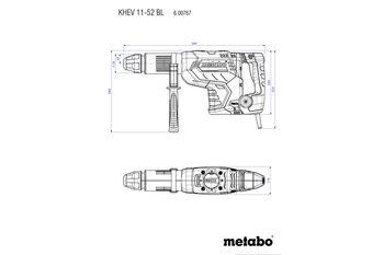 купить Перфоратор Metabo KHEV 11-52 BL в Кишинёве