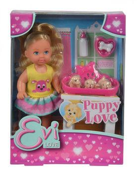 купить Simba кукла Еви с собачкои 12 см в Кишинёве