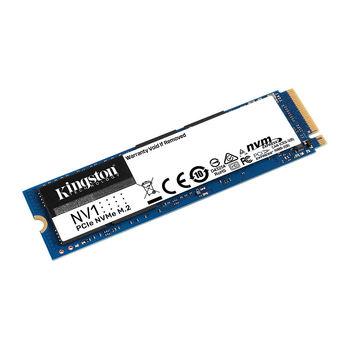 500GB SSD M.2 Type 2280 PCIe NVMe 3.0 x4 Kingston NV1 SNVS/500G, Read 2100MB/s, Write 1700MB/s (solid state drive intern SSD/внутрений высокоскоростной накопитель SSD)