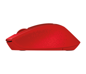 Wireless Mouse Logitech M330 Silent Plus, Red