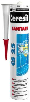 купить Силикон Санитар белый 280мл Ceresit CS25 (95406) в Кишинёве