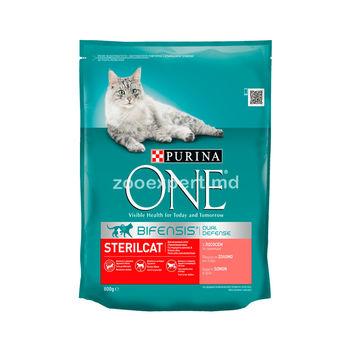 Purina One Steril Cat Salmon  800 gr