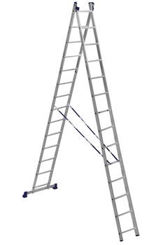 купить Ascara. VHR HK 2x14  Лестница Алюм. двухсторонняя в Кишинёве