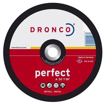 Dronco Диск шлифовальный 125мм Perfect A30T