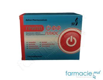 купить GRIPP OFF PLUS compr. 500 mg/30 mg/10 mg/2 mg  N10x10 (Balkan) в Кишинёве