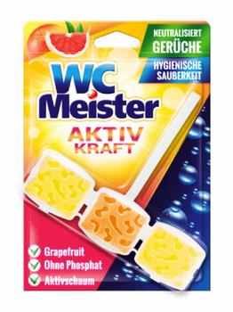 купить Блок Освежитель WC Meister 45 гр, Грейпфрут в Кишинёве