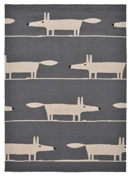 Авторские ковры ручной работы  SCION LIVING OUTDOOR Mr.Fox-Charcoal 425305
