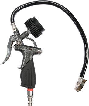 купить Пневматический профессиональный пистолет YATO с манометром 23701YT в Кишинёве