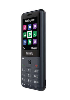 купить Philips E169 Dual Sim,Dark Gray в Кишинёве