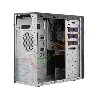 Case ATX Chieftec HC-10B-OP, w/o PSU, 2xUSB3.0, USB Type C, Black