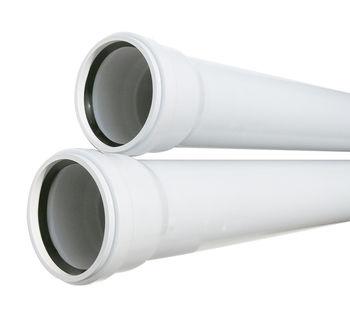 купить Труба ПВХ белая ф.110  L= 0.50m / 2.2 мм с муфтой, нар. M в Кишинёве