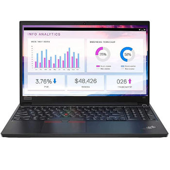"Laptop 15.6"" Lenovo ThinkPad E15 Gen 3 Black, AMD Ryzen 7 5700U 1.8GHz-4.3GHz/16GB PC4-23400/SSD 512GB/AMD Radeon Graphics/WiFi  802.11ax/ Bluetooth/ HDMI/ Gbit Ethernet/ Card Reader/ HD Webcam/ Fprint/ Illum Keyb/ 15.6"" IPS FHD (1920x1080) Non-glare/No OS"