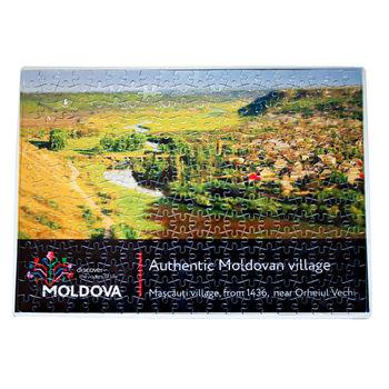 купить Пазлы A3 – Аутентичная молдавское село в Кишинёве
