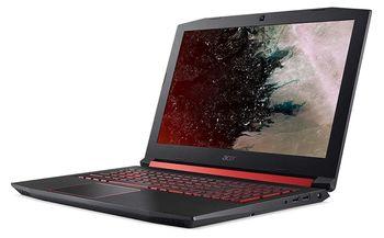 """купить ACER Nitro AN515-54 Obsidian Black (NH.Q59EU.09F) 15.6"""" FHD IPS (Intel® Core™ i5-9300H 4xCore 2.4-4.1GHz, 8GB (1x8) DDR4 RAM, 512GB PCIe NVMe SSD, GeForce® GTX 1650 4GB GDDR5, WiFi-AC/BT, 4cell, HD Webcam, RUS, Backlit KB, Linux, 2.5kg) в Кишинёве"""