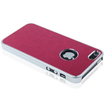 Чехол для iPhone 5 / 5S Metallic красный