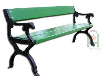Ножка чугунная для садовой скамейки City XIII