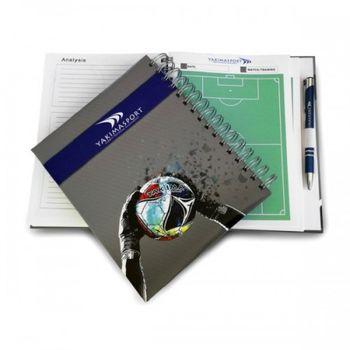 Блокнот для тренера по футболу Yakimasport 100241