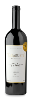 Вино Taraboste Tribut Saperavi Château Vartely, красное сухое, 2017,  0.75 L