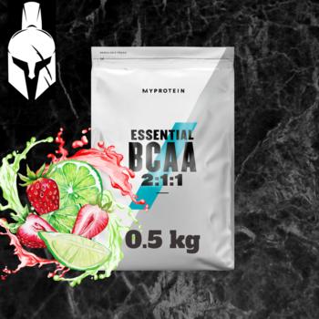 Essential BCAA 2:1:1 - Клубника и лайм - 0.5 KG