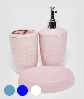 купить Набор 3-аксес.д/ванной, пластик матовый в ассорт. (10230) в Кишинёве