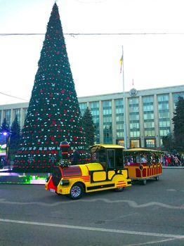 купить ПОЛНОЕ БРЕНДИРОВАНИЕ   детского паровозика в Кишинёве