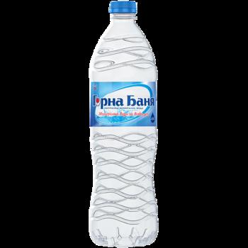 Минеральная вода Горна Баня 1,5л (пэт) x6 шт.