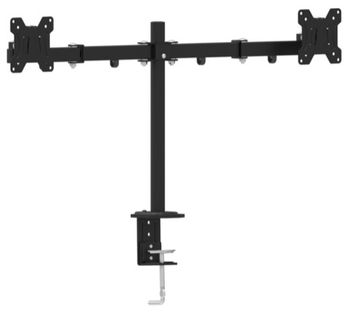 "{u'ru': u'Arm for 2 monitors 13""-27"" - Gembird MA-DF2-01, Steel, VESA 75/100, arm allows to swivel, extend, retract or tilt your display and enables rotating the display from landscape-to-portrait mode', u'ro': u'Arm for 2 monitors 13""-27"" - Gembird MA-DF2-01, Steel, VESA 75/100, arm allows to swivel, extend, retract or tilt your display and enables rotating the display from landscape-to-portrait mode'}"